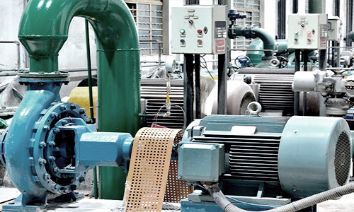 STATIONARY PUMPING EQUIPMENT